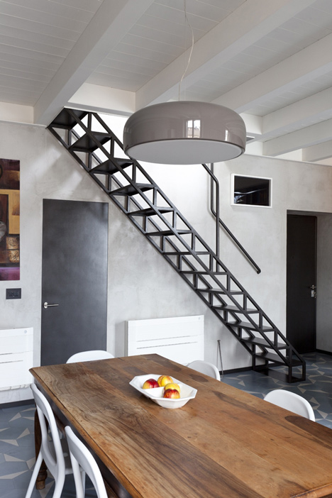 Желязо - метални стълби