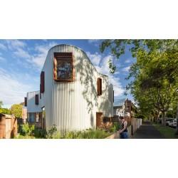 Мелбърнски дом с необичайна форма