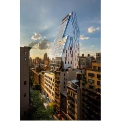 Отражението на големия град в Ню Йорк