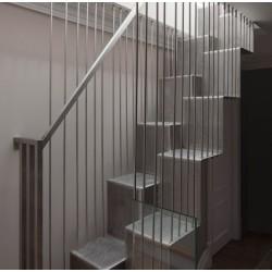 Перфорирани метални стълби за повече светлина