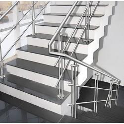 Основните предимства на стоманените стълбища