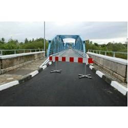 Обновеният стоманен мост в Симеоновград