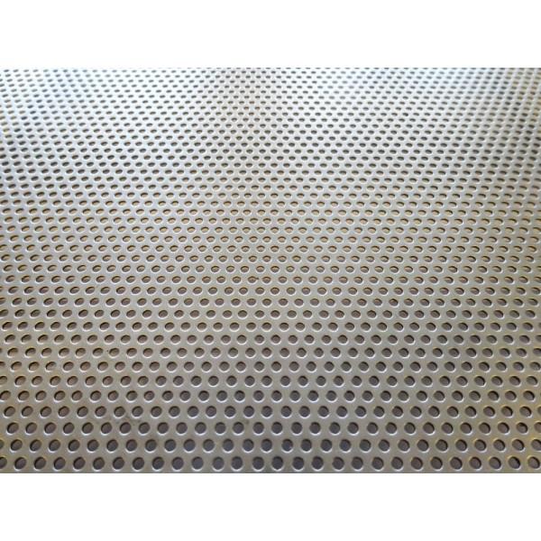 Черна перфорирана ламарина Ф2 Т3,5 от Metalen.bg