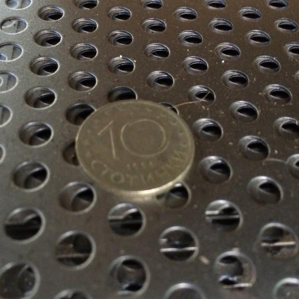 Черна перфорирана ламарина Ф5 Т8 от Metalen.bg