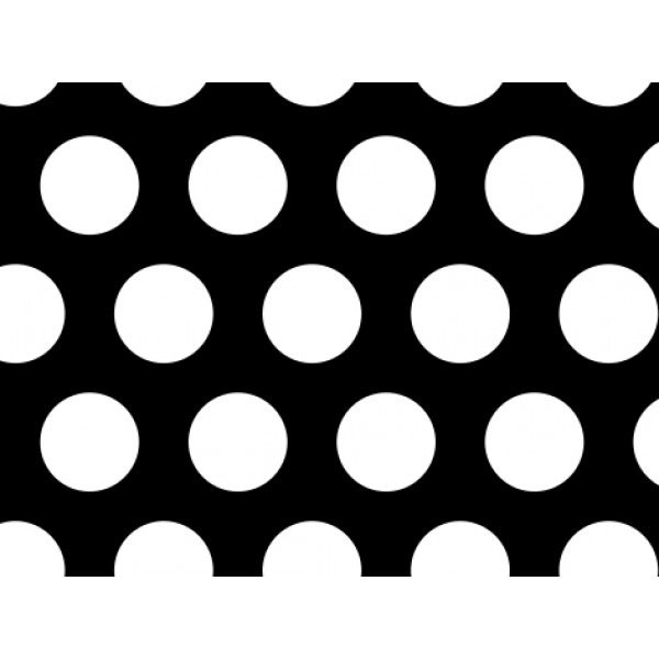 Черна перфорирана ламарина Ф6 Т9 от Metalen.bg
