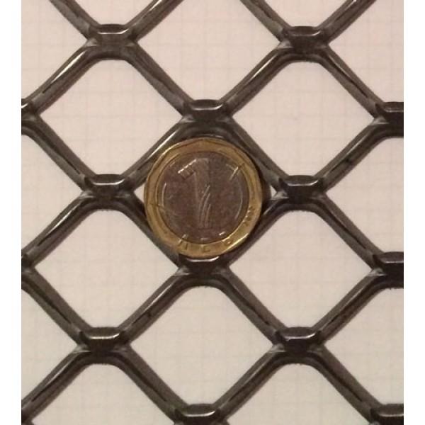 Черна просечена ламарина с отвор 40х30 мм