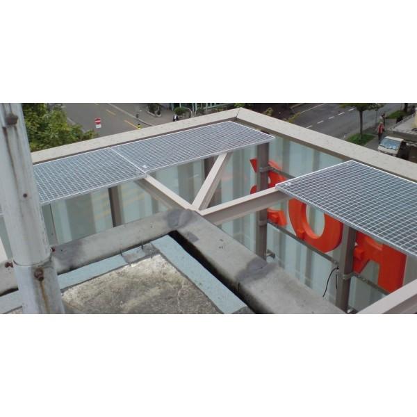 Поцинкована решетъчна скара (гидерос) 600x1000 мм от Metalen.bg
