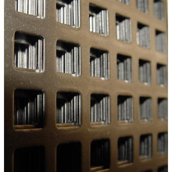 Перфорирана ламарина с квадратни отвори