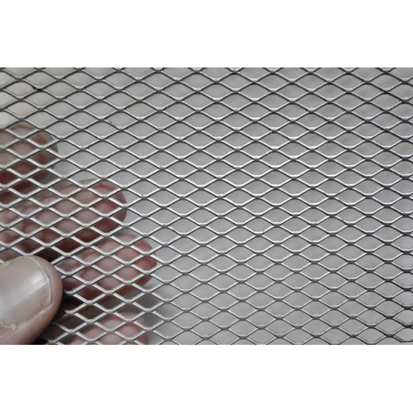 Поцинкована просечена ламарина с отвор 10х5 мм