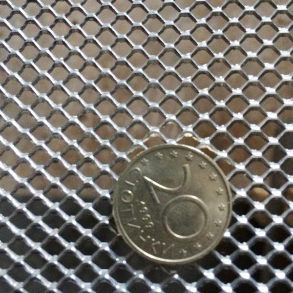 Поцинкована просечена ламарина - 4х4 мм