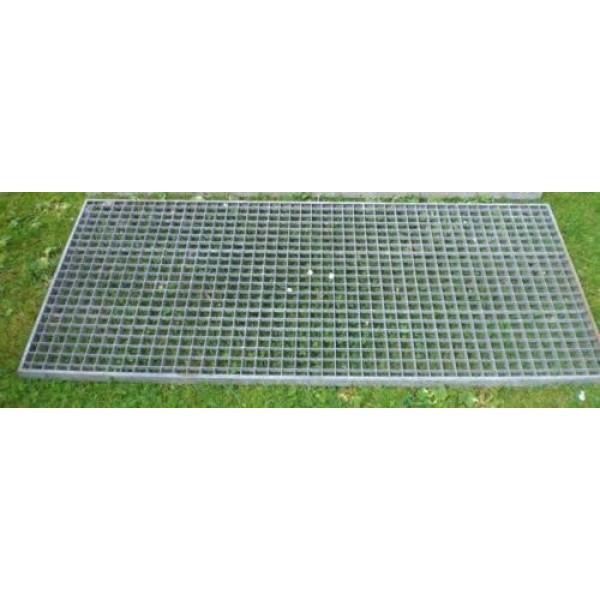 Поцинкована решетъчна скара 1100 х 900 мм от Metalen.bg