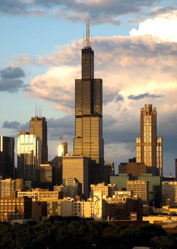 Най-известната сграда в Чикаго